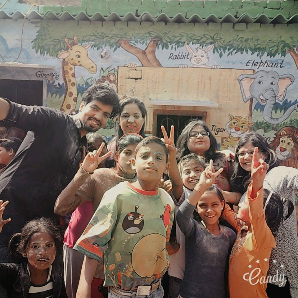 Holi Celebration with NGO